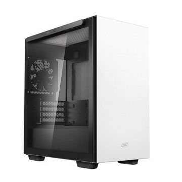 DEEPCOOL MACUBE 110 TRANSPARENT SIDE PANEL - White price in india features reviews specs