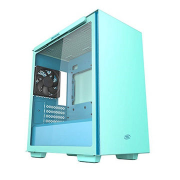 DEEPCOOL MACUBE 110 TRANSPARENT SIDE PANEL - Green price in india features reviews specs