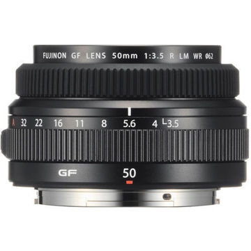 FUJIFILM GF 50mm f/3.5 R LM WR Lens in india features reviews specs