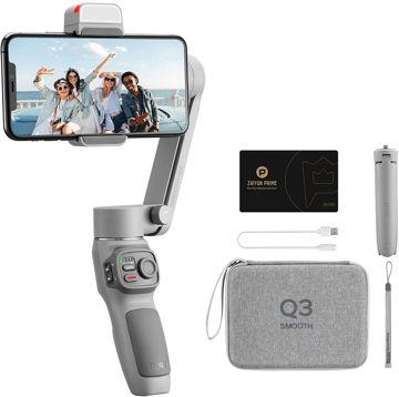 buy Zhiyun-Tech Smooth-Q3 Smartphone Gimbal Stabilizer Combo in India imastudent.com