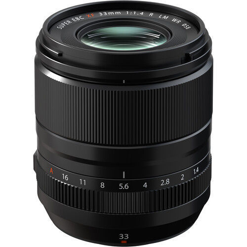 FUJIFILM XF 33mm f/1.4 R LM WR Lens in india features reviews specs