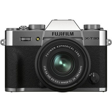 FUJIFILM X-T30 II Mirrorless Digital Camera with 15-45mm Lens in india features reviews specs