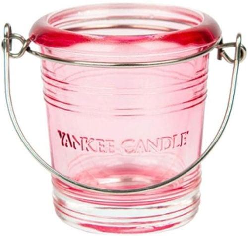 buy Yc Bucket Votive Holder Glass - Pink in India imastudent.com