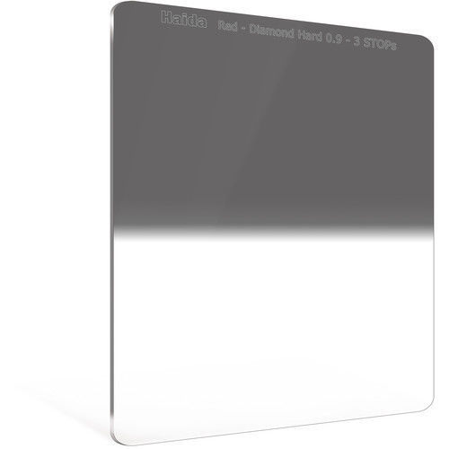 Haida Red Diamond Graduated Neutral Density Filter - 0.9 ND / 3 Stops / 8x / 150x170mm in india features reviews specs