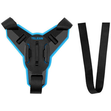 TELESIN Motorcycle Helmet Chin Strap Mount for GoPro Cameras in india features reviews specs