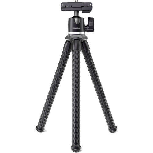 TELESIN Flexible Octopus Tripod with 2-in-1 Mount in india features reviews specs