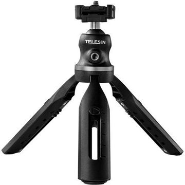 TELESIN Portable Tripod with Ball Head and Smartphone Holder in india features reviews specs