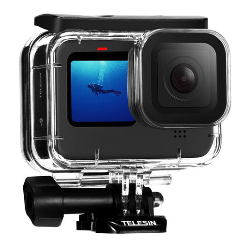 TELESIN 45M Waterproof Dive Case for GoPro Hero 9 in india features reviews specs