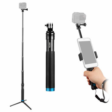 TELESIN Tripod And Phone Clip for Action Cameras in india features reviews specs