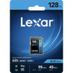 Lexar 128GB Professional 633x UHS-I SDXC Memory Card in india features reviews specs