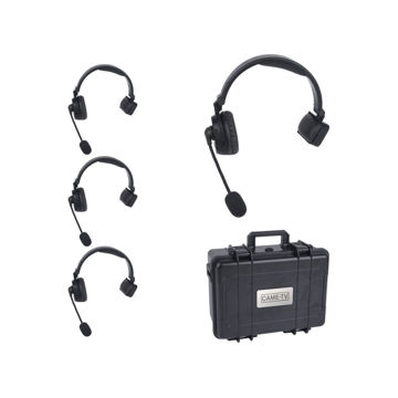 CAME-TV Waero Duplux Digital Wireless Foldable Headset With Hardcase 4 Pack in india features reviews specs