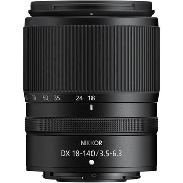 Nikon NIKKOR Z DX 18-140mm f/3.5-6.3 VR Lens in india features reviews specs