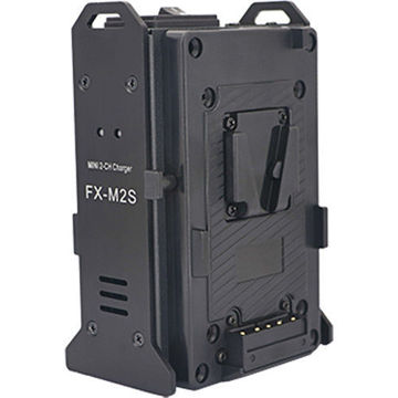 Fxlion FX-M2S Mini 2-Ch V-Mount Battery Charger in india features reviews specs