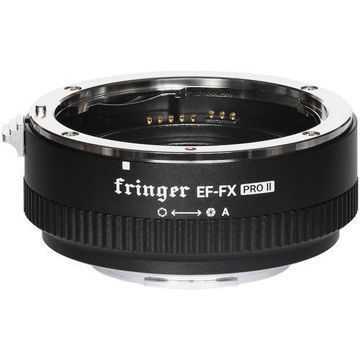 Fringer EF-FX Pro II Lens Mount Adapter for EF- or EF-S-Mount Lens to Fujifilm X-Mount Camera in india features reviews specs