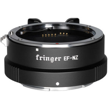 Fringer Lens Mount Adapter for EF- or EF-S-Mount Lens to Nikon Z-Mount Camera in india features reviews specs