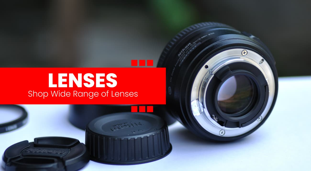 wide range of camera lenses available at www.imastudent.com